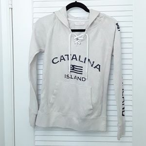 Ocean Drive Catalina Island Hooded Sweatshirt